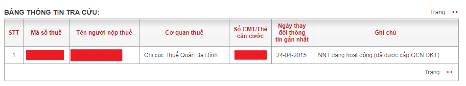 Hướng dẫn tra số CMND online