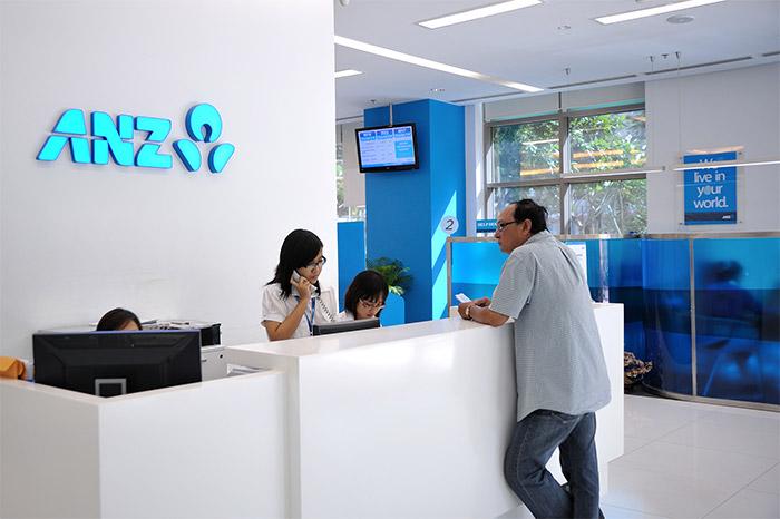 ANZ mở cửa phục vụ khách hàng từ thứ Hai đến thứ Sáu trong tuần