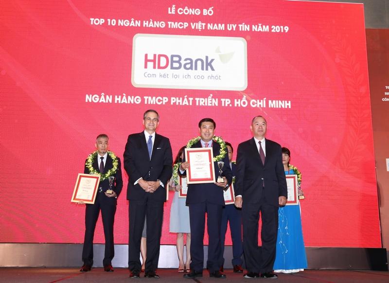 HDBank vinh dự nhận được nhiều giai thưởng quan trọng